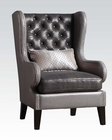 Accent Chair in Gray by Acme Furniture AC96208