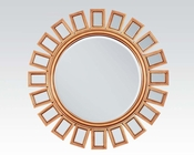 Accent Mirror in Gold Finish by Acme AC97059