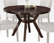 Acme 48in Dia. Dining Table Drake AC16250