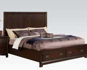 Acme Bed w/ Storage in Traditional Style Bellwood AC00160BED