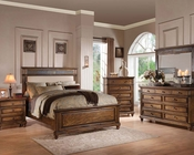 Acme Bedroom Set in Oak Finish Arielle AC24440SET