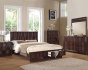 Acme Bedroom Set in Walnut Travell AC20520SET
