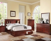 Acme Bedroom Set Louis Philippe III AC24380SET