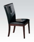 Acme Black Side Chair Danville AC16774 (Set of 2)