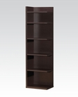 Acme Bookcase in Cappuccino Finish AC92092