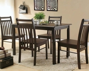 Acme Cappuccino Dining Set Serra II AC00860SET