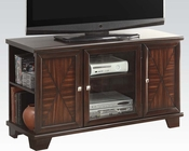 Acme Cherry Finish TV Console AC91182