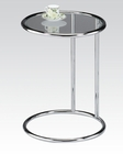 Acme Chrome Side Table AC81557