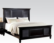 Acme Contemporary Bed Merivale Black AC22440BED