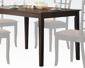 Acme Contemporary Dining Table Cardiff AC06850