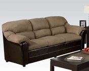 Acme Contemporary Sofa Connell Saddle AC15140