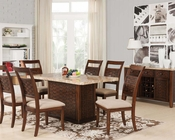 Acme Contemporary Style Dining Set in Maite AC71510SET