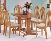 Acme Dining Set in Oak Finish Stockholm AC02190TO-SET