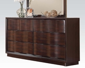 Acme Dresser in Walnut Travell AC20525