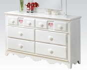 Acme Dresser w/ Heart-Shaped Design Sweetheart AC30177
