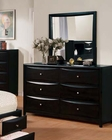 Acme Dresser w/ Mirror Manhattan Black AC14117DM