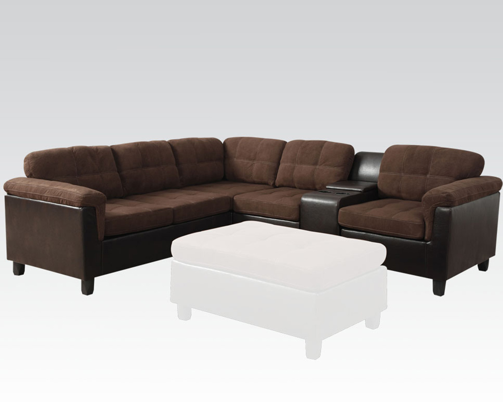 Acme Easy Rider Reversible Sectional Sofa Cleavon Ac51660