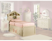 Acme Furniture Bed in Cream AC02210TBED