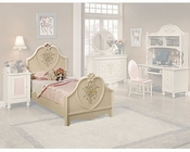 Acme Furniture Bed in Cream AC02665TBED