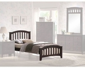 Acme Furniture Bed in Walnut AC04980TBED