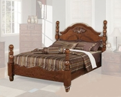 Acme Furniture Bed in Walnut Finish AC01720ABED