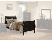 Acme Furniture Bed Louis Philippe in Black AC19510TBED