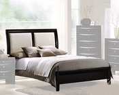 Acme Furniture Bed with Two Tone Headboard AC04160BED