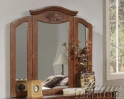 Acme Furniture Bedroom Mirror in Walnut Finish AC01724A