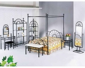 Acme Furniture Bedroom Set in Black AC02084SET