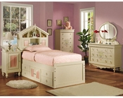 Acme Furniture Bedroom Set in Cream AC02210TSET