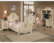 Acme Furniture Bedroom Set in Cream AC02665TSET