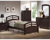 Acme Furniture Bedroom Set in Dark Walnut AC14980TSET