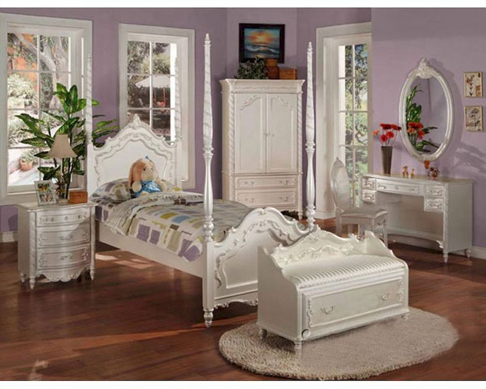 Acme Furniture Bedroom Set In Pearl White Ac00995fset on Ay Dresser Furniture