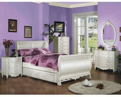 Acme Furniture Bedroom Set in Pearl White AC01010TSET