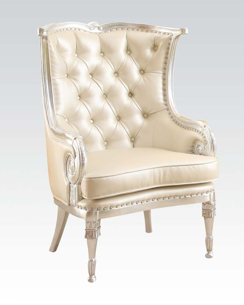 Acmne 59440 Accent Chair: Acme Furniture Beige Accent Chair AC59122