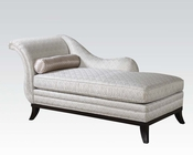 Acme Furniture Beige Fabric Chaise AC96198
