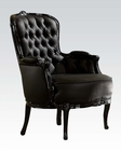 Acme Furniture Black Finish Accent Chair by Acme Furniture AC59148