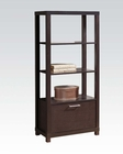 Acme Furniture Bookcase w/ One Drawer AC92065