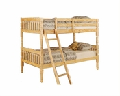 Acme Furniture Bunk Bed in Natural AC00514