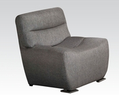 Acme Furniture Chair in Gray Linen Kainda AC51722