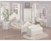 Acme Furniture Chair in Pearl White AC01022