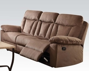Acme Furniture Chocolate Motion Sofa Elisha AC51425