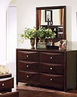 Acme Furniture Dresser and Mirror in Espresso Finish AC0740405V