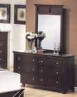 Acme Furniture Dresser and Mirror in Espresso Finish AC0751415A