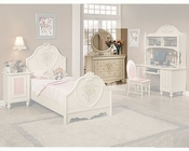 Acme Furniture Dresser with Mirror in Cream AC02215-6