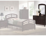 Acme Furniture Dresser with Mirror in Dark Walnut AC04998-88