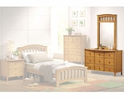 Acme Furniture Dresser with Mirror in Maple AC08945-9