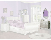 Acme Furniture Dresser with Mirror in Pearl White AC001014-5