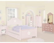Acme Furniture Dresser with Mirror in Pink AC00740-1