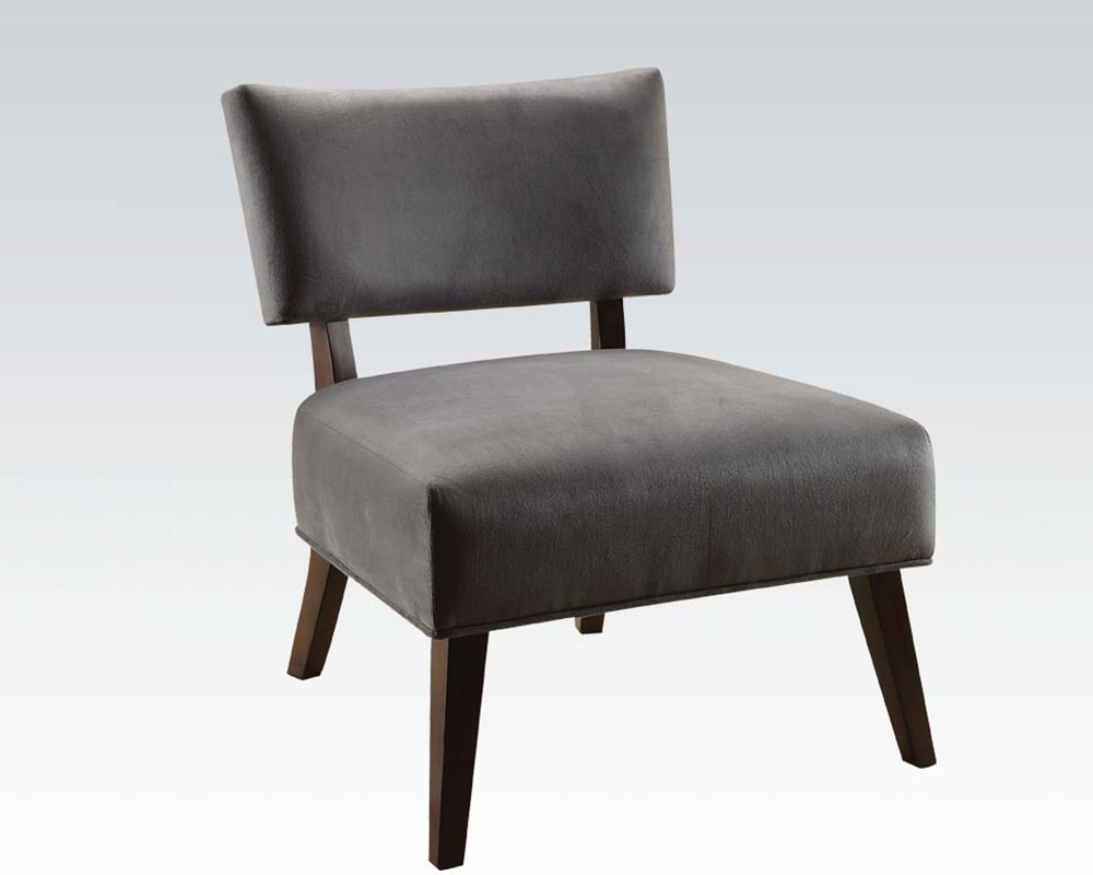 Acme Furniture Gray Accent Chair AC